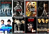The Leonardo DiCaprio Ultimate DVD Collection : Inception / Blood Diamond / Body Of Lies / J Edgar / Catch Me If You Can / Shutter Island / The Departed / Gangs of New York