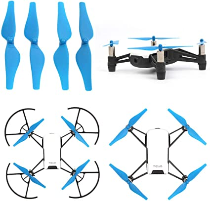 4 Pairs Propellers Prop for DJI Tello RC Drone Quadcopter Helicopter Parts