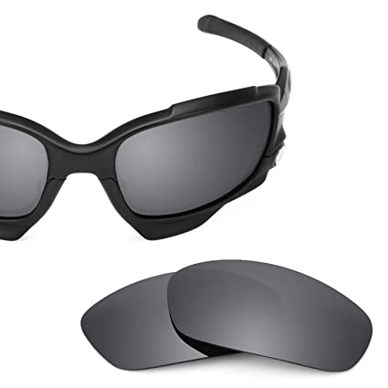 eb6ddab710d Revant Polarized Replacement Lenses for Oakley Jawbone (Asian Fit) Elite  Black Chrome MirrorShield