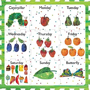 Amazon Com The Very Hungry Caterpillar Days Of The Week