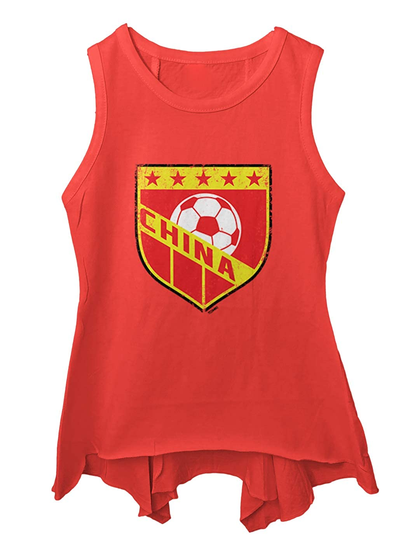 Distressed Badge Toddler//Youth Sleeveless Backswing Tcombo China Soccer