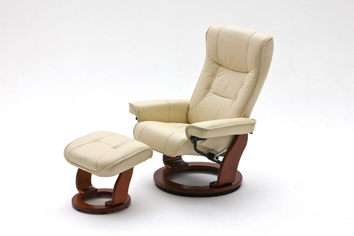 fernsehsessel relaxsessel tv sessel creme leder holz. Black Bedroom Furniture Sets. Home Design Ideas