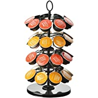 SKY-TOUCH 360 Degree Rotating Coffee Capsules Holder Coffee Pod Stand for max 36Pcs K-CUP/Dolce Gusto/Caffitaly Capsules