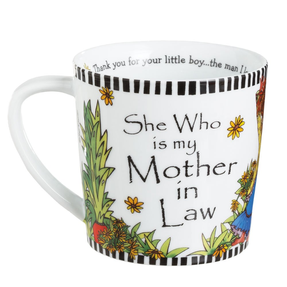 midwest cbk she who is my mother in law mug amazoncouk kitchen home - What To Get Your Mother In Law For Christmas