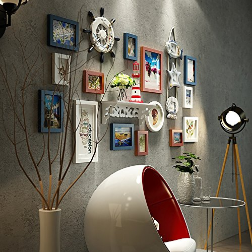 Photo Wall / Photo Frame Wall / Frame Combination Of Solid Wood