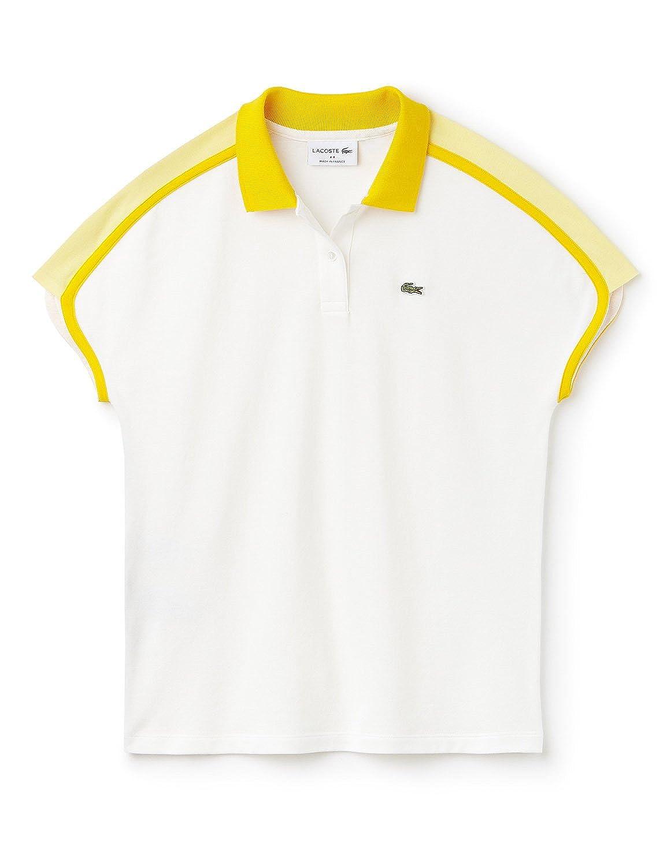 Lacoste - Polo - para mujer Blanco L0s Farine-solstice-jaune-sol ...