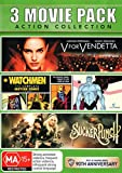 Sucker Punch / V for Vendetta / Watchmen Complete Motion Comic | 4 Discs | NON-USA Format | PAL | Region 4 Import - Australia