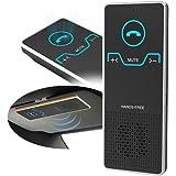 Wireless Car Speaker Bluetooth Receiver Sun Visor Speakerphone Car Stereo Player Hands-free Car Kit for iPhone 7/Plus Samsung Support