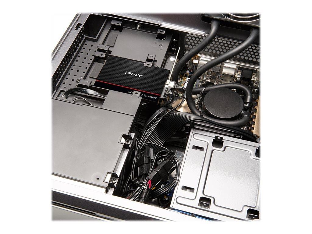 """PNY CS1311 480GB 2.5"""" SATA III Internal Solid State Drive (SSD) - (SSD7CS1311-480-RB)"""