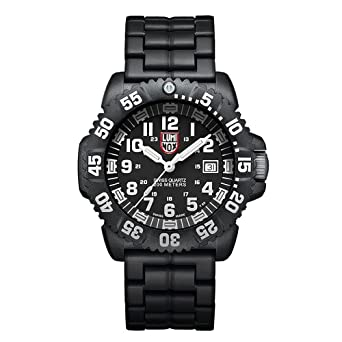 navy black and white pictures for bathrooms. Luminox Men s 3052 Colormark Navy Seal Black Resin Watch Amazon com