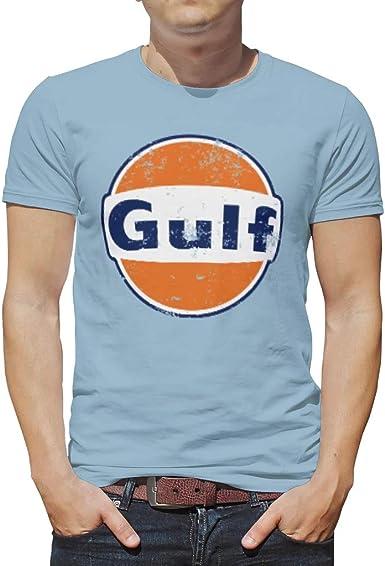 EPLstar Playera Divertida para niños Gulf Racing Retro Cuello ...