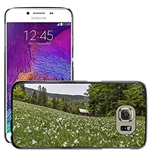 Hot Style Cell Phone PC Hard Case Cover // M00114804 Nature Field Meadow Flowers Blooming // Samsung Galaxy S6 (Not Fits S6 EDGE)