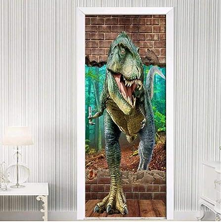 Adesivi Per Porte Porta Adesivi Per Porte Dinosauro ...