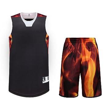 Sanheng Camiseta y Pantalón de Baloncesto, Secado Rápido Camisetas ...