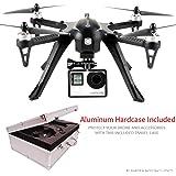 Contixo F17 Smart RC Quadcopter Drone, Brushless Motors,18 mins Flight Time, Aluminum Hard Case - Support GoPro Hero Cameras