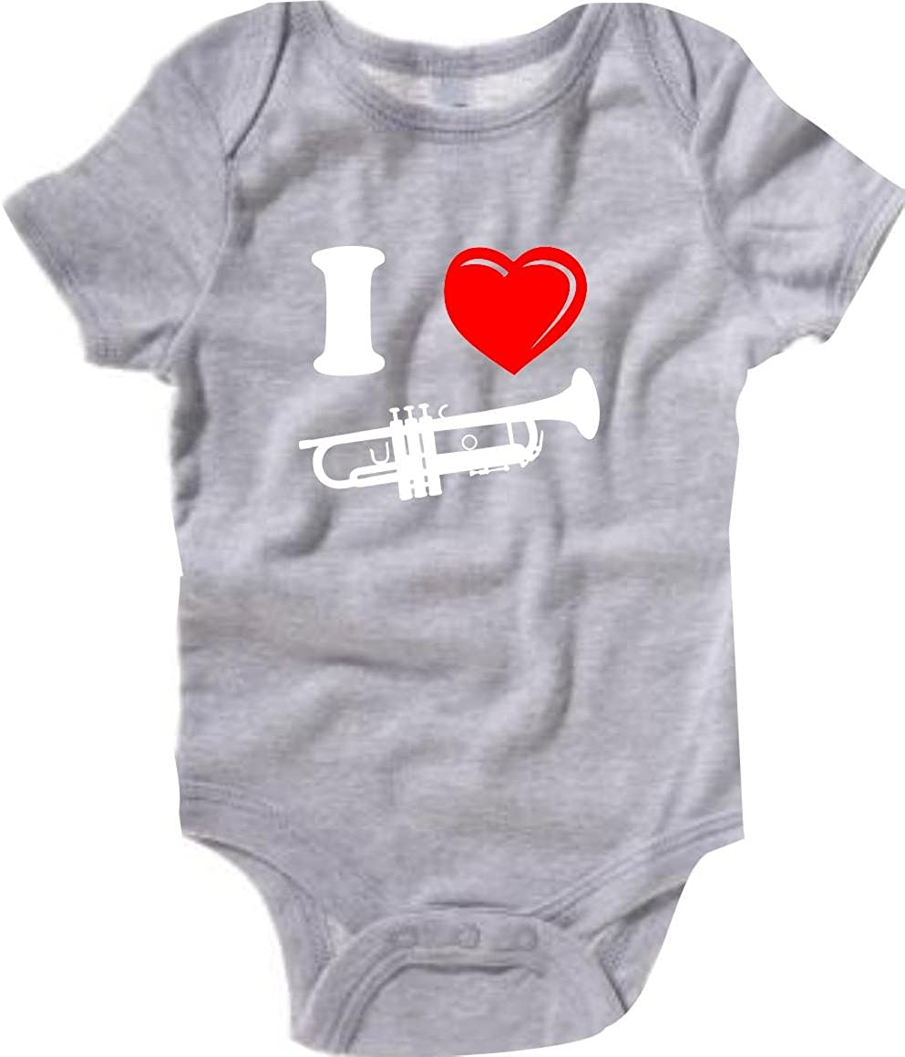 Krokodil Baby Body Musikinstrument Trompete Horn viele Farben Gr/ö/ße 3-24 Monate