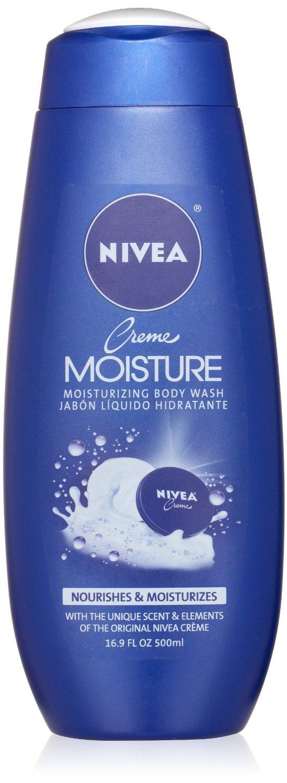 (2 Pack) Nivea Creme Moisture Body Wash, 16.9 Ounce