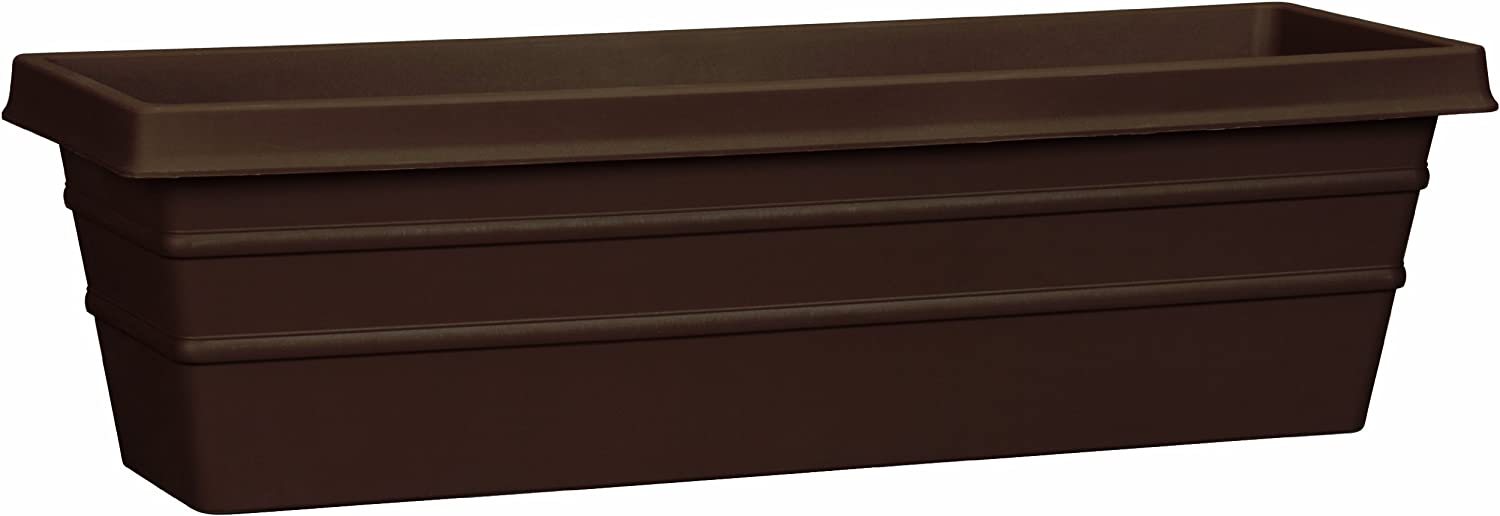 Planters Pride MSW30000E21 30-Inch Chocolate Marina Box Planter (Discontinued by Manufacturer)