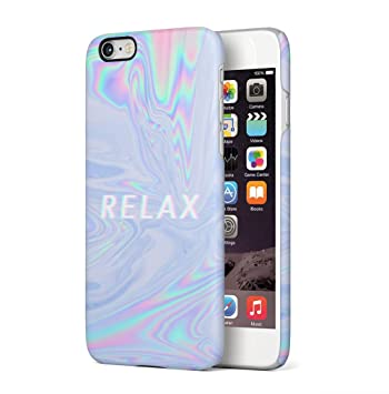 Maceste Trippy Tie Dye Rainbow Acid Relax Compatible with iPhone 6 Plus/iPhone 6S Plus SnapOn Hard Plastic Phone Protective Carcasa Cubierta Case ...