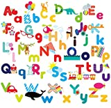 Whimsical Alphabet Decorative Peel & Stick Wall Art Sticker Decals Picture