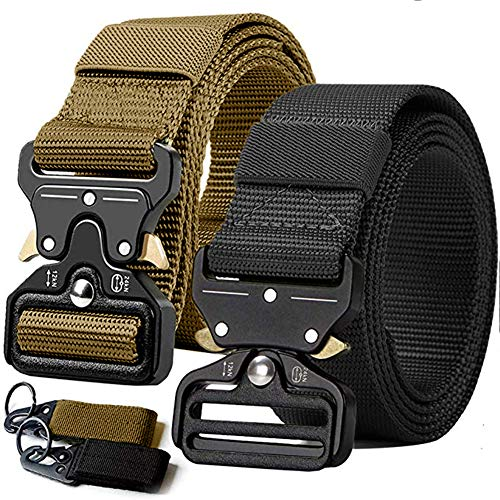 2PCS Tactical Belt,Military Style...