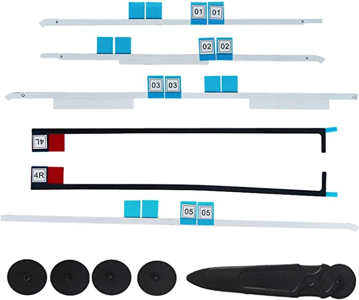"Bfenown Replacement LED LCD Panel Adhesive Tape/Strips + Opening Wheel Tools for iMac A1418 21.5"" MD093LL/A MD094LL ME699LL ME086LL ME087LL MK142LL MK442LL MK542LL/A 2012 2013 2014 2015"