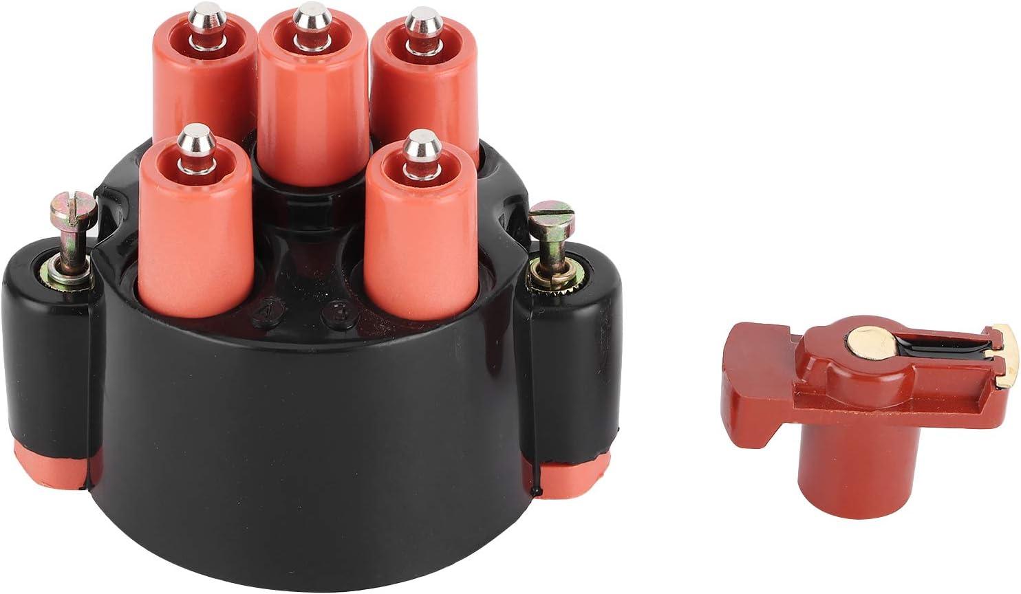 Juego de distribuidor de encendido, tapa de distribuidor y kit de rotor 0001584902 Ajuste de repuesto para 190 W201 / Coupe/Clase G