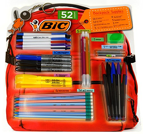 BIC Count Backpack Supplies Highlighters product image