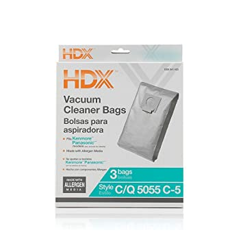 Amazon.com: HDX Vacuum Cleaner Bags Kenmore 5055 Panasonic C ...