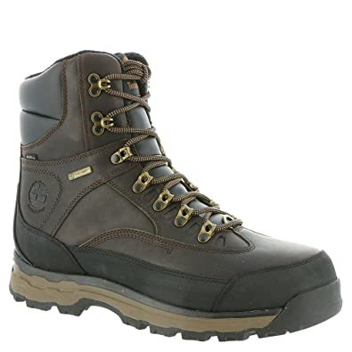 537559fa6 Timberland Men's Chocorua Trail 8 inch Waterproof Hiking Boot Dark  Brown/Mulch Size 8 M