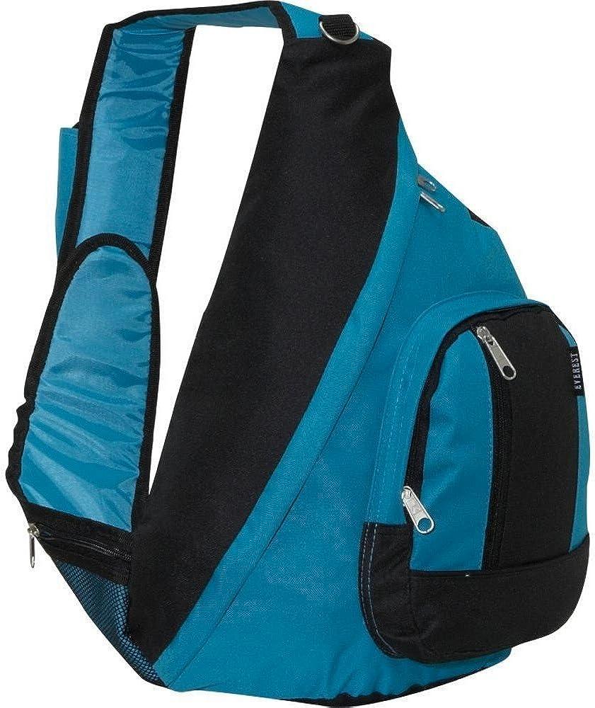Everest Sling Bag Shoulder Carry Backpack – Turquoise