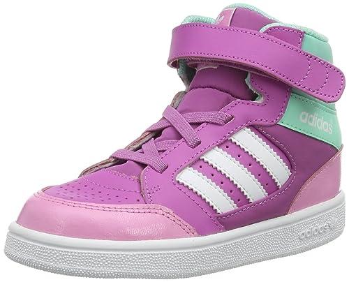 adidasPro Play CF I-0 - Botines Unisex, para niños, color Rosa, talla 39 1/3 EU: Amazon.es: Zapatos y complementos