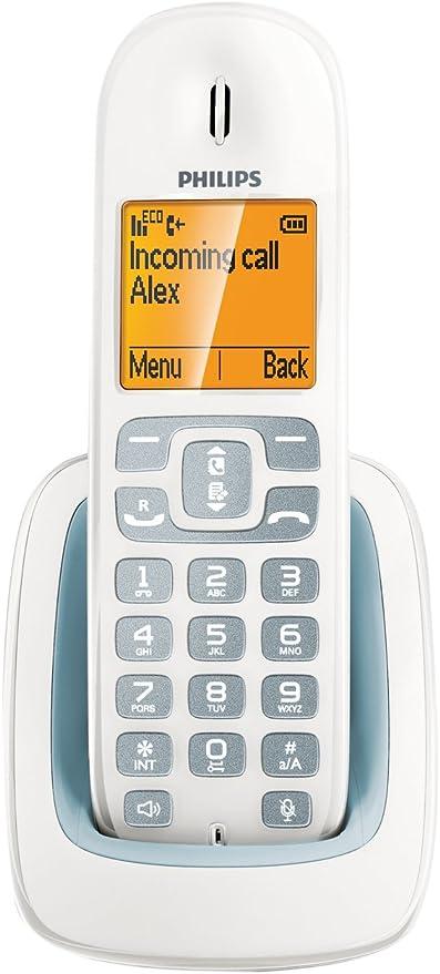 Philips Cd2902Ws23 - Teléfono digital (Inalambrico, Manos Libres, Identificador De Llamada, Digital, Mysound, Duo): Amazon.es: Electrónica