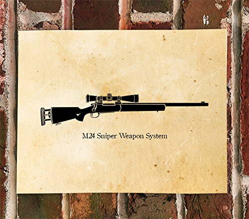 (KillerBeeMoto: Limited Print M24 Sniper Weapon System)