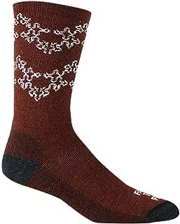 product image for Farm to Feet Womens Montreal Snowflake Crew Merino Wool Socks