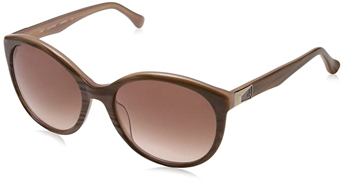 Calvin Klein Cat Eye, Gafas de sol para Mujer, (Marrone), 57 ...