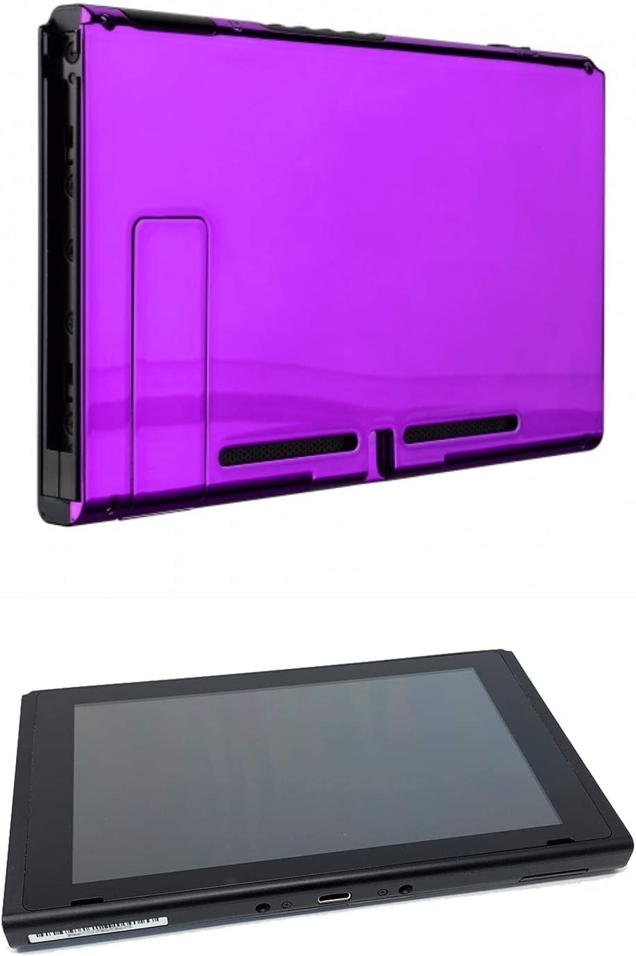 Chrome Purple Custom Console for Nintendo Switch Tablet Only