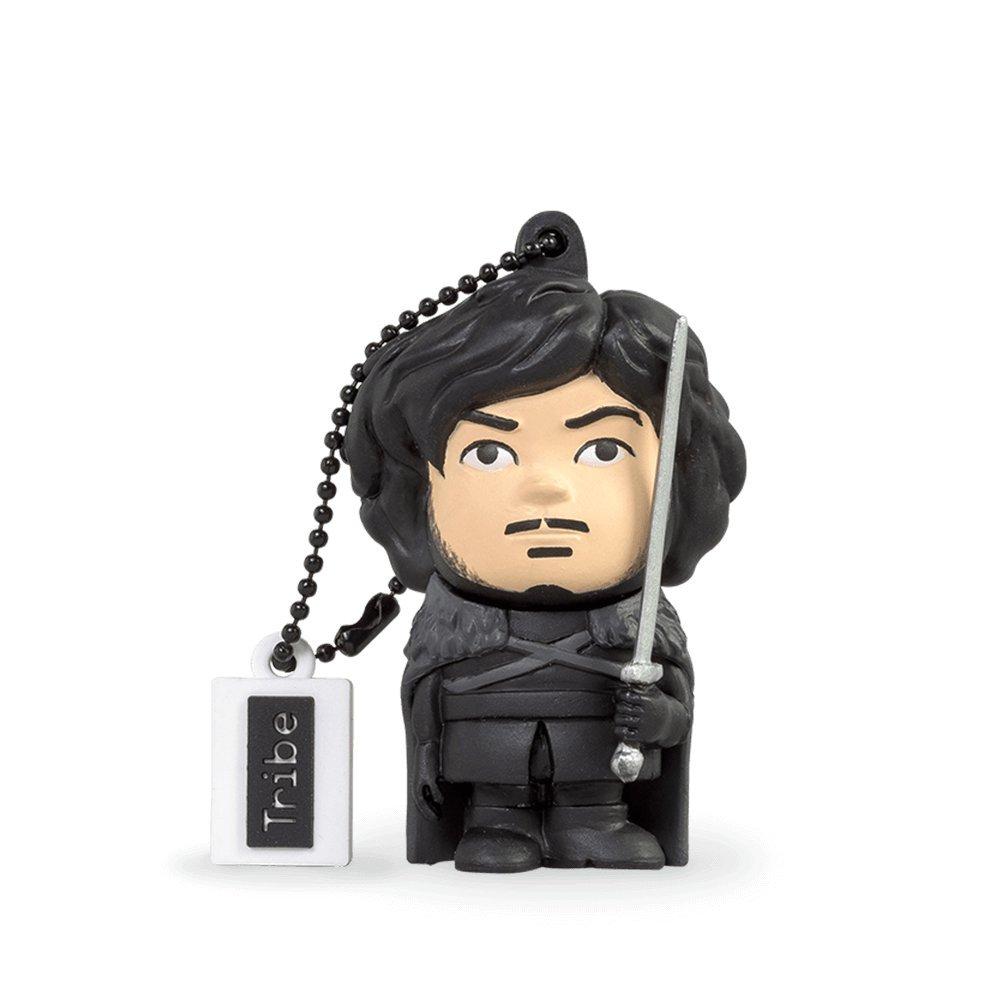 Tribe Game of Thrones (Il Trono di Spade) Tyrion Chiavetta USB da 16 GB Pendrive Memoria USB Flash Drive 2.0 Memory Stick, Idee Regalo Originali, Figurine 3D, Archiviazione Dati USB Gadget in PVC con Portachiavi - Multicolore No Name 8055742129290 Accessor