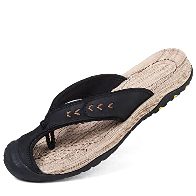2e815ecd1 CHENGXIAOXUAN Summer Men s Casual Flip Flops Beach Shoes Non-Slip Korean  Tidal Sandals Baotou Sandals