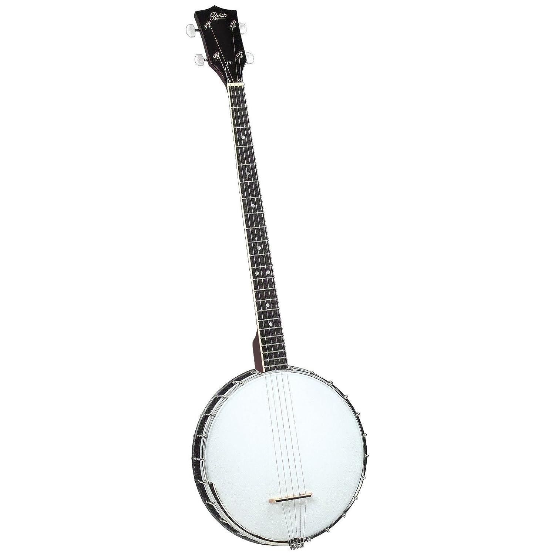 Rover RB-20P Plectrum Open back 4 String Banjo Saga Musical Instruments