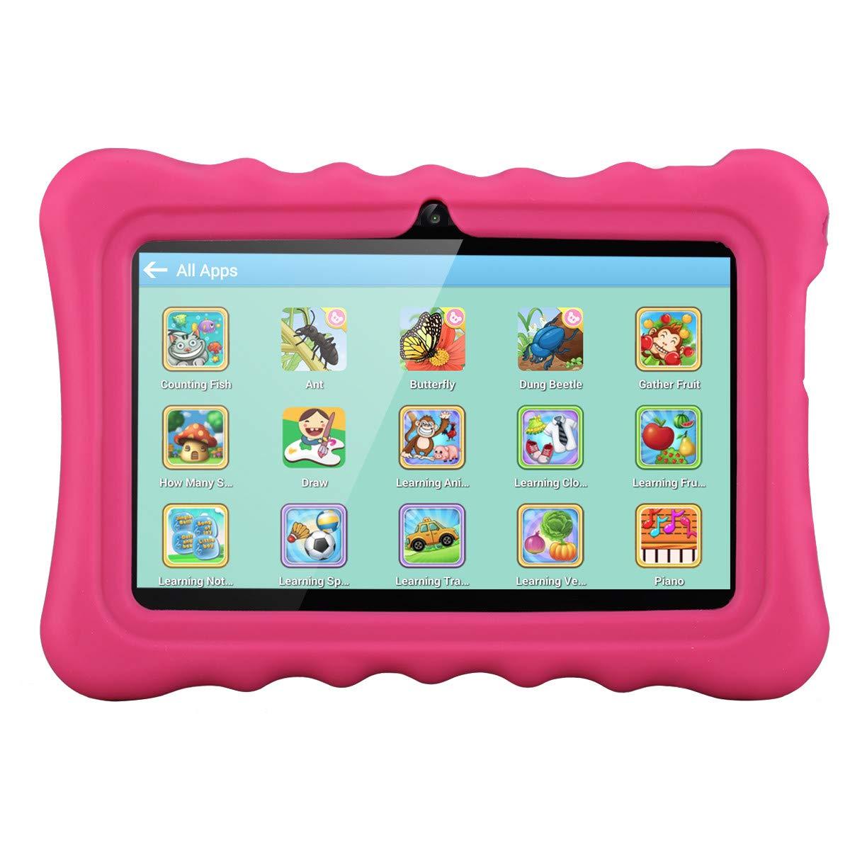 Ainol Q88 Android 7.1 RK3126C Quad Core 1GB+16GB 0.3MP+0.3MP Cam WiFi 2800Ah Tablet PC--Pink by Ainol Q88 (Image #6)