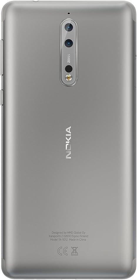 Nokia 8 - Smartphone de 13.5 cm (5.3
