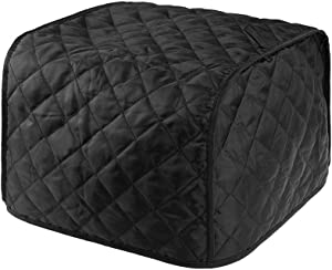 Warmsky Polyester Fabric Quilted Two Slice Toaster Appliance Dust-proof Cover, Dust and Greasy Protection