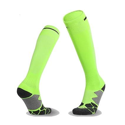 zhaoaiqin Calcetines de fútbol, medias sobre la rodilla Toalla de la toalla,