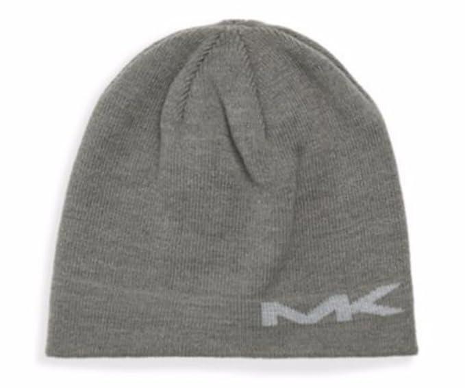 MICHAEL Michael Kors Men s Reversible MK Logo Knit Beanie Hat at ... 95ecc79a649