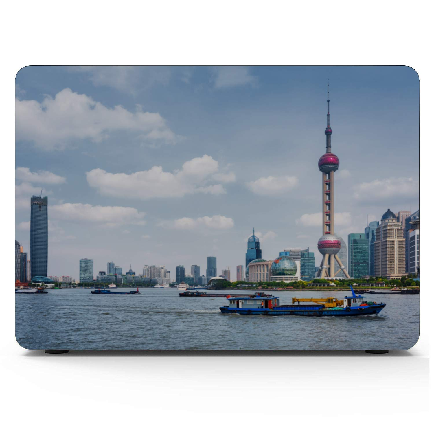 13 in Laptop Case Sign Travel Building Oriental Pearl Plastic Hard Shell Compatible Mac Air 11 Pro 13 15 MacBook Air 13 Inches Protection for MacBook 2016-2019 Version