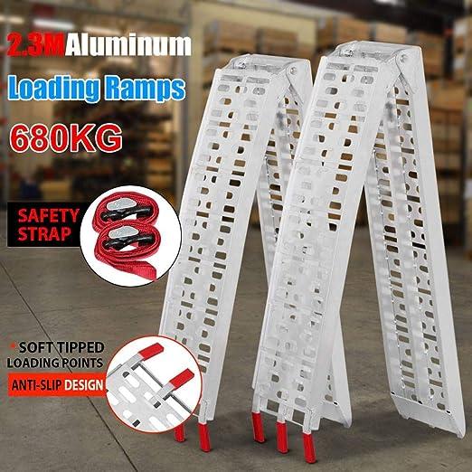 Popamazing - Juego de 2 rampas de carga de aluminio ...