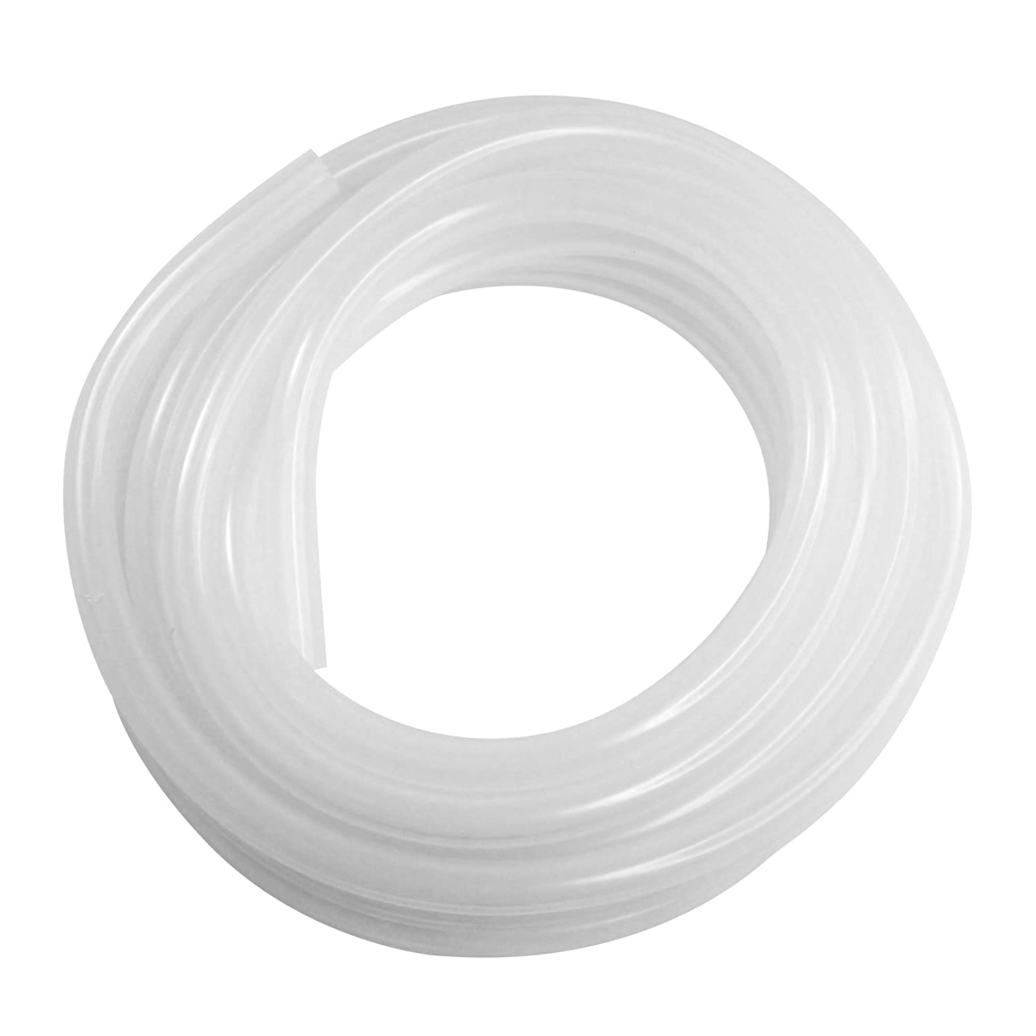 "Midwest Homebrewing and Winemaking Supplies PRECUT 1/2"" ID Silicone Tubing - 10 ft."
