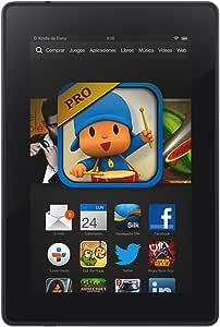 """Kindle Fire HD 7"""" (17 cm), Pantalla HD, wifi, 8 GB - incluye ofertas especiales (generación anterior – 3ª)"""