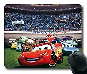 Lightning Mcqueen Cars Rectangle Mouse Pad by LZHCASE